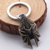 Dragon Age 3 keychain Key Chains Necklace For Men Gifts-Fandomsky