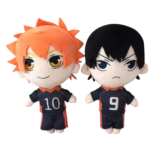20cm Haikyuu!! Cartoon Figure Plush Doll Soft Stuffed Toys Children Gift Toys Plush Toys