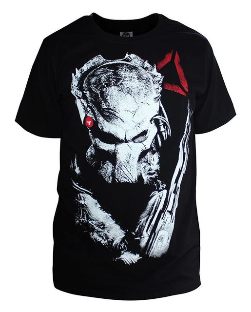 Predator 2018 Splatter Unisex Adult Sublimated T Shirt for Men and Women-Fandomsky