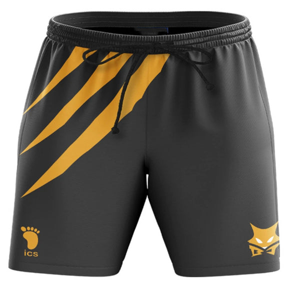 Unisex Haikyuu!! Summer Beach Shorts MSBY Black Jackal Cosplay Shorts Casual Short Pants