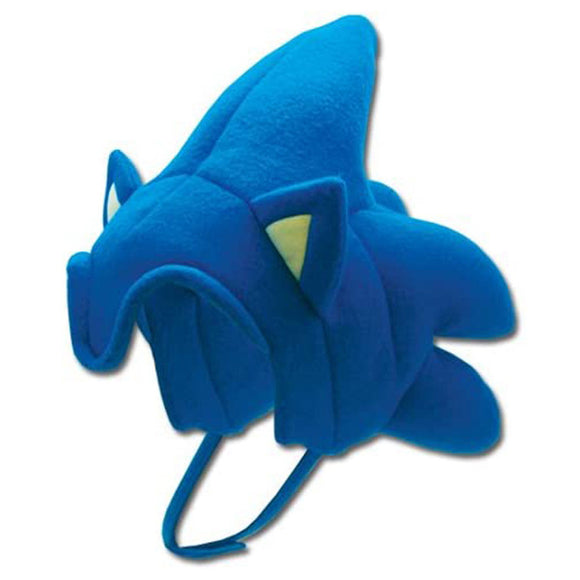 Unisex Sonic the Hedgehog Cosplay Cap Soft Plush Hat Halloween Warm Beanies