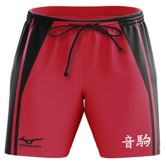 Unisex Haikyuu!! Summer Beach Shorts Nekoma High School Cosplay Shorts Casual Short Pants