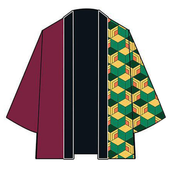 Demon Slayer: Kimetsu no Yaiba Tomioka Giyuu Cosplay Costume Men Women Cardigan Jackets Japanese Kimono