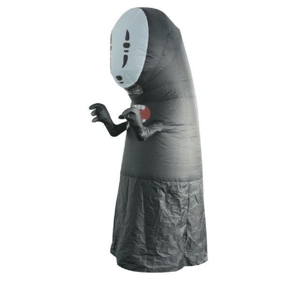 Adult Spirited Away No Face Man Cosplay Costumes Inflatable Costumes Halloween Party Performance Clothing