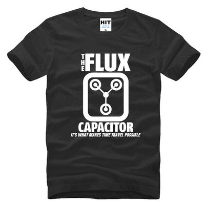 Men's Flux Capacitor Back to the Future T Shirt-Fandomsky