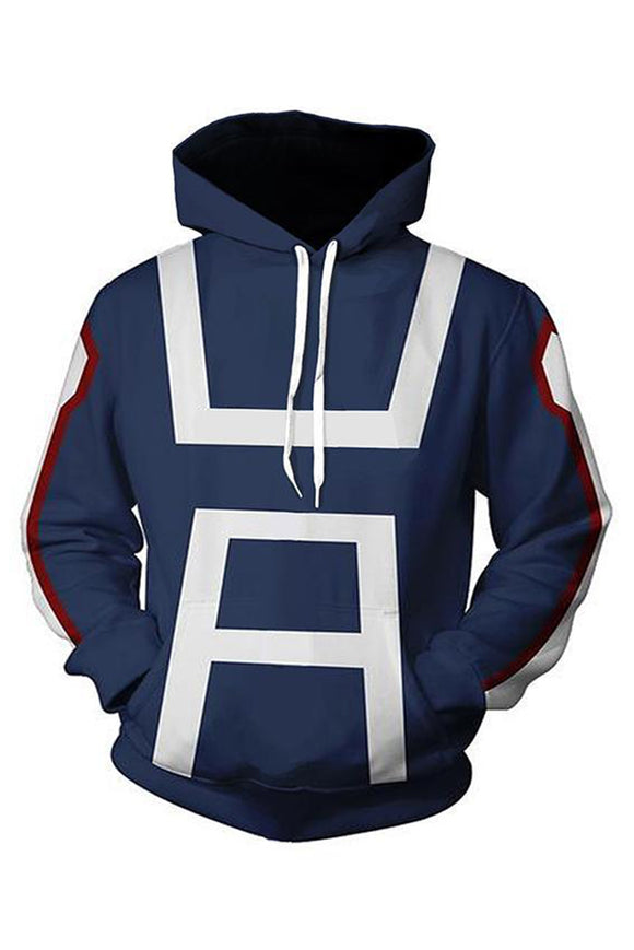 Boku No Hero Academia My Hero Academia Izuku Midoriya Hoodies Sweatshirt Cosplay Costume Training Suit-Fandomsky