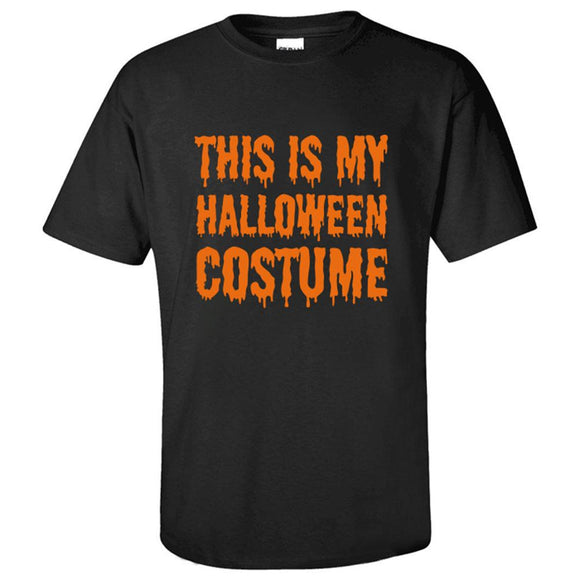 This Is My Halloween Costume T-Shirt For Halloween Unisex-Fandomsky