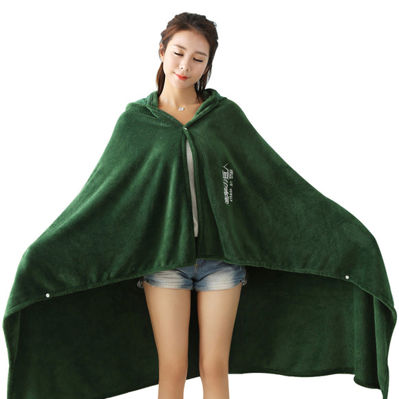 Unisex Attack on Titan Blanket Cloak Shingeki No Kyojin Survey Corps Cloak Cape Flannel Cosplay Blanket