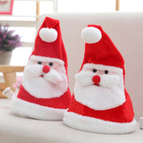 Xmas Santa Hat Electric Christmas Hat with Light Sing Illuminated Swing Dancin Festive & Party Supplies Gifts
