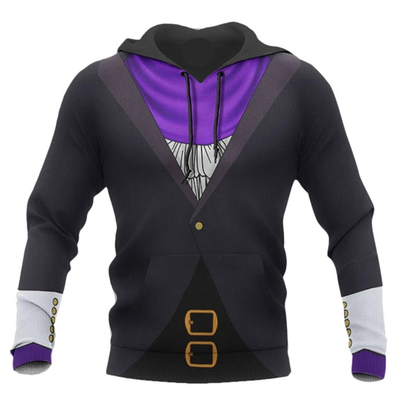 Anime My Hero Academia Hoodies Aizawa Shouta Cosplay Hooded Sweatshirt Casual Streetwear Pullover Hoodie
