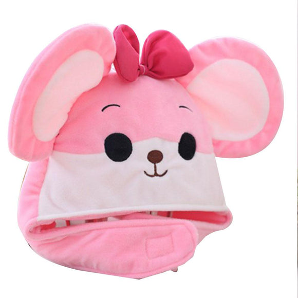 Novelty Funny Mouse Hat Headgear Head Cover Plush Cap Halloween Costume Party Photo Props
