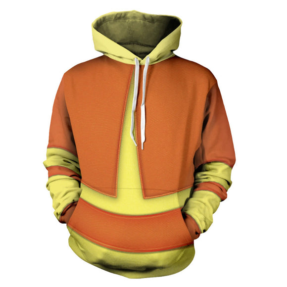 Unisex Avatar: The Last Airbender Aang Cosplay Hoodies Men Women Pullover Sportswear Tracksuit Casual Thin Sweatshirt