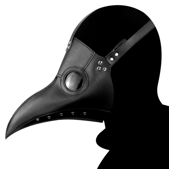 Steampunk Plague Doctor Bird Beak Mask Medieval Bubonic Plague DR Halloween Costume Masquerade Masks