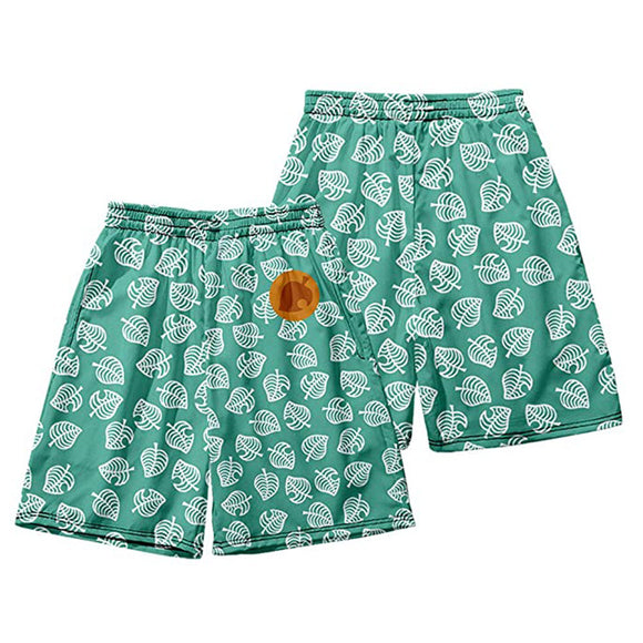 Unisex Animal Crossing Summer Beach Shorts Pants Timmy Tommy Cosplay Shorts Casual Short Pants