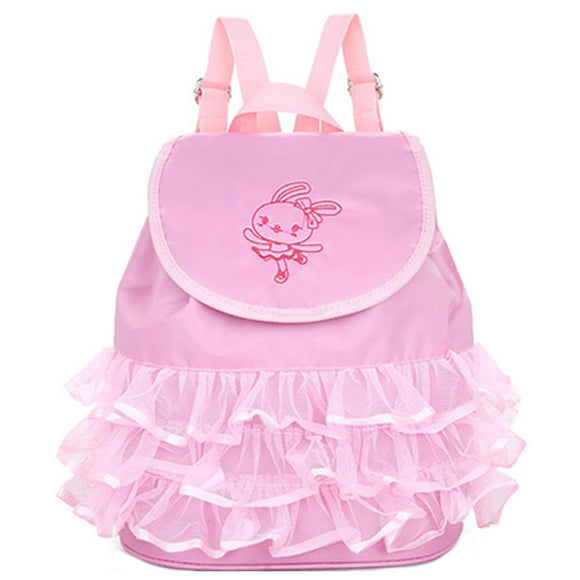 Toddler Backpack Ballet Dance Bag for Girls-Fandomsky