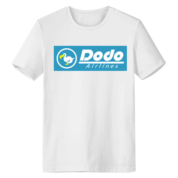 Unisex Animal Crossing T-shirt Dodo Airlines Printed Summer O-neck T-shirt Casual Street Shirts