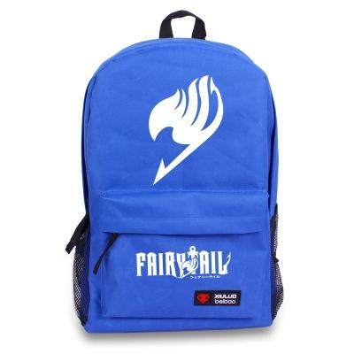 Fairy Tail Natsu Magic Guild Logo Unisex School Bag Backpack-Fandomsky