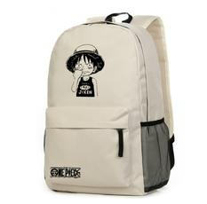 Anime One Piece Monkey Luffy Cosplay Backpack Laptop Bag