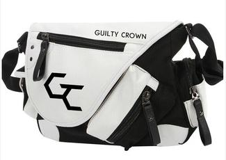 Anime Guilt Crown Cosplay Messenger Bag Shoulder Bag
