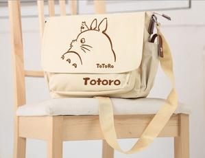 Anime My Neighbor Totoro Cute Messenger Bag-Fandomsky