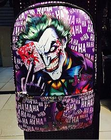 Batman The Joker Polyester Backpack School-Fandomsky