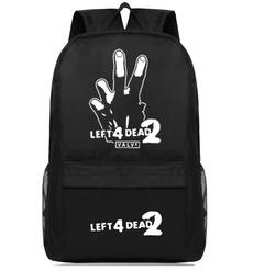 Game Left 4 Dead 2 Cosplay Casual Backpack-Fandomsky