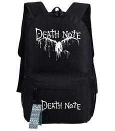 Anime Death Note Cosplay Casual Oxford Backpack Travling Bag School Bag-Fandomsky