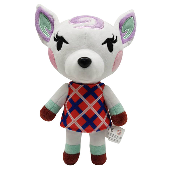 21cm Animal Crossing Diana Cartoon Figure Plush Doll Soft Stuffed Toys Children Gift Toys Plush Toys