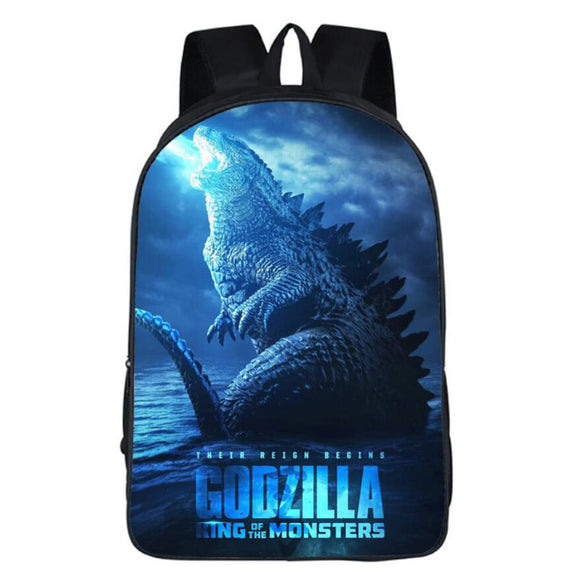 Godzilla Backpack-Monster Godzilla Fans Bag-Lightweight Backpacks for Travel,Outdoor,School-Fandomsky