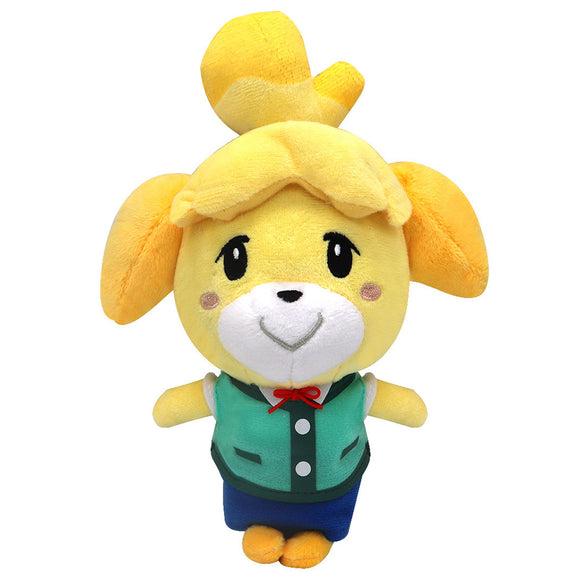 30cm Animal Crossing Isabelle Cartoon Figure Plush Doll Soft Stuffed Toys Children Gift Toys Plush Toys