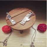 Doctor Who Splice Necklace Lovers Necklace