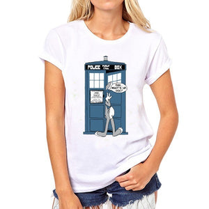 Doctor Who Short Sleeve Casual T-Shirt-Fandomsky