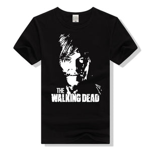 The Walking Dead Daryl Dixon Bandana Logo Adult T-Shirt-Fandomsky