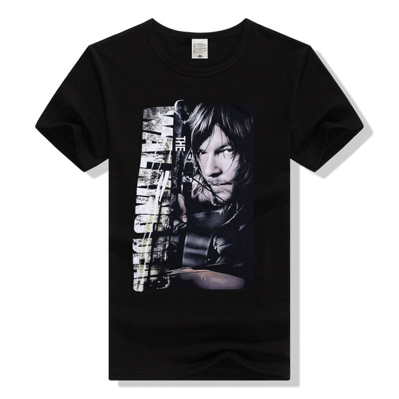 The Walking Dead Daryl Dixon Short Sleeve Adult T-Shirt-Fandomsky