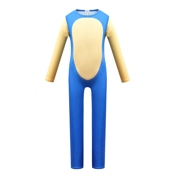 Kids Sonic The Hedgehog Cosplay Zentai Suit Halloween Costume Children Jumpsuit Bodysuit Outfits