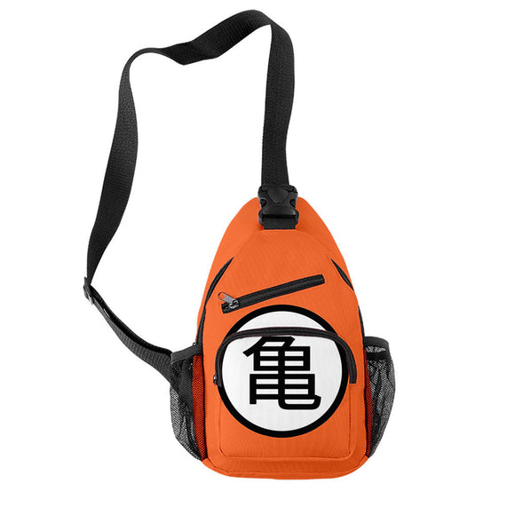 Anime Dragon Ball Casual Messenger Bag Chest Bag Cartoon Shoulder Bag