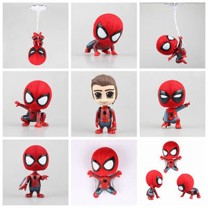 Spiderman Spiderman Heroes Return Spiderman Squatting, Climbing, Vehicle-borne Dolls-Fandomsky