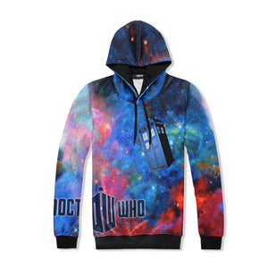 Doctor Who Unisex 3D Graphic Print Realistic Casual Long Sleeve Hoodie Pullover Sweatshirt