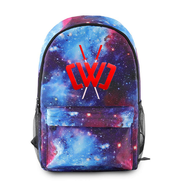 Students Game School Book Bag CHAD WILD CLAY Backpack Teenagers Shoulder Bags