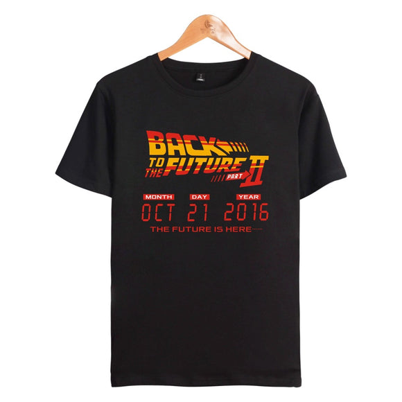 Back To The Future Date of Time Travel T-Shirt-Fandomsky