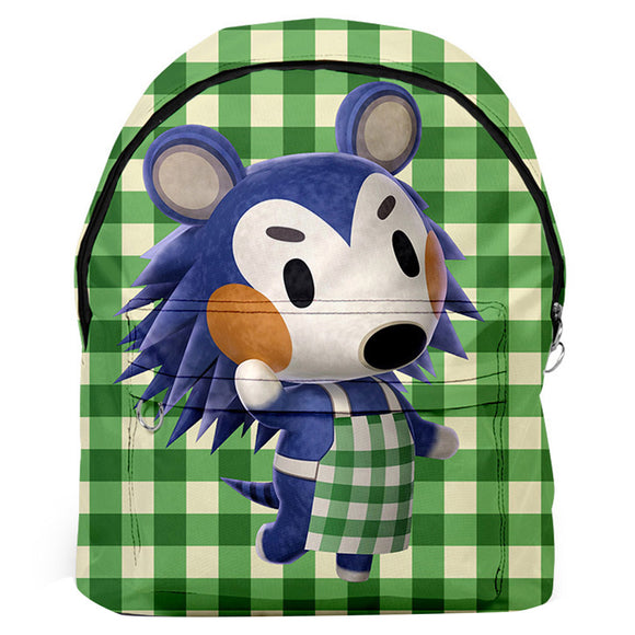 Game Animal Crossing Shoulders Backpack Student Large Capacity School Bag