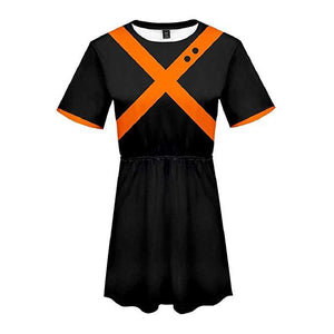 Boku No Hero My Hero Academia Skirt Bakugou Katsuki Dress Outfit-Fandomsky
