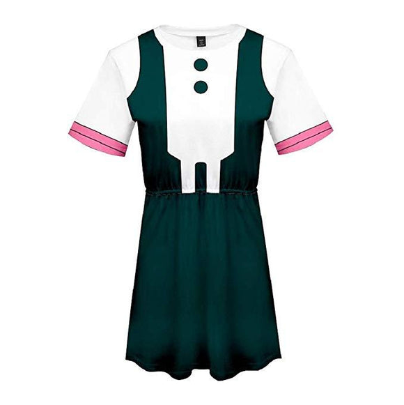 Boku No Hero My Hero Academia Skirt OCHACO URARAKA Dress Outfit