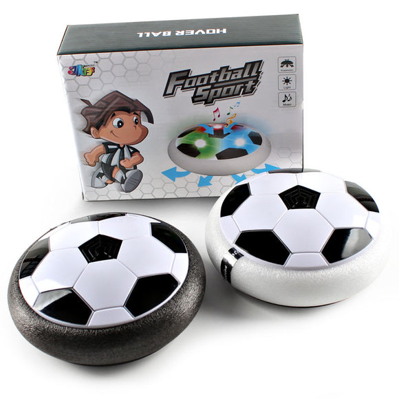 Amazing Hover Soccer Ball Air Hockey Games for Kids Adult Dog Toys Air Power Hovering Football Indoor Outdoor with Colorful Led Lights Foam Bumpers