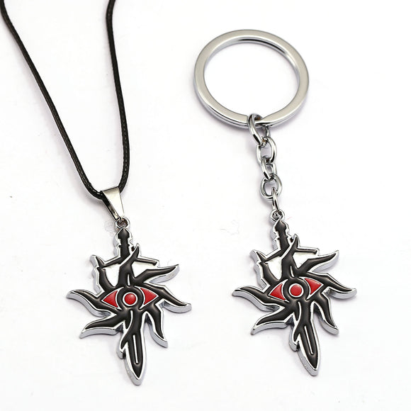 New Arrivals Online Game Dragon Age 3: Inquisition Alloy Pendant Necklace Key Chain