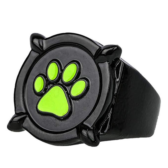 Cat Noir Black Ring Ring Deluxe Zinc Alloy Cosplay Accessory Jewelry