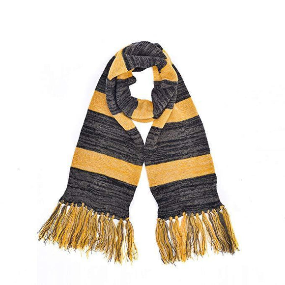 Fantastic Beasts Newt Scamander Cosplay Trench Knitted Wool Scarf-Fandomsky