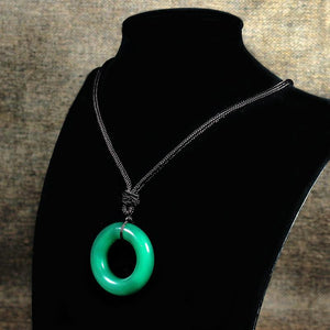 The Ancient Magus Bride Chise Hatori Necklace Agate jade Bangle-Fandomsky