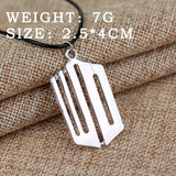 Doctor Who Geometric Pendant Necklace-Fandomsky