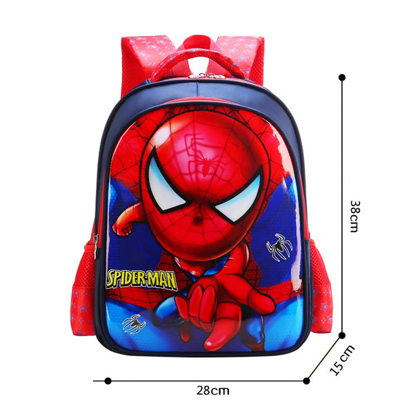 3D Print School Bag For Kids Cartoon Light Casual Backpack 4 Styles-Fandomsky